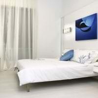 красивый интерьер комнаты в белом цвете картинка