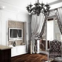 светлый стиль комнаты в стиле арт деко картинка