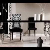 светлый дизайн гостиной в белых тонах фото
