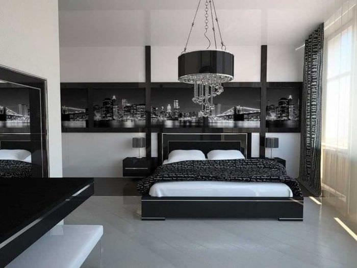 Хай тек спальни дизайн