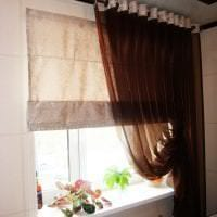 красивый шелковый тюль в интерьере гостиной фото