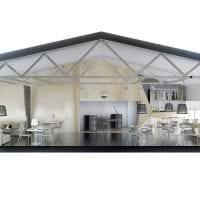 яркий стиль дома в архитектурном стиле картинка