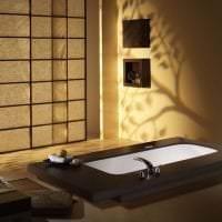 яркий стиль спальни в японском стиле фото