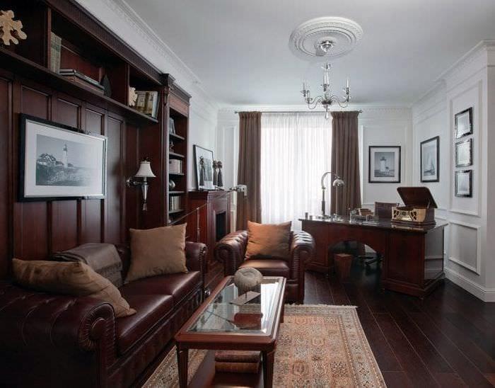 светлый стиль квартиры в английском стиле