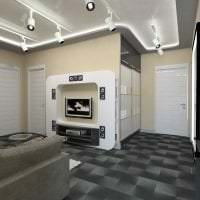стильный интерьер квартиры в стиле хай тек фото