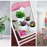 красивый весенний декор в дизайне спальни фото