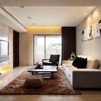 светлая прихожая комната дизайн картинка