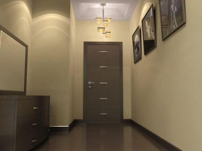 входные двери в коридор изнутри