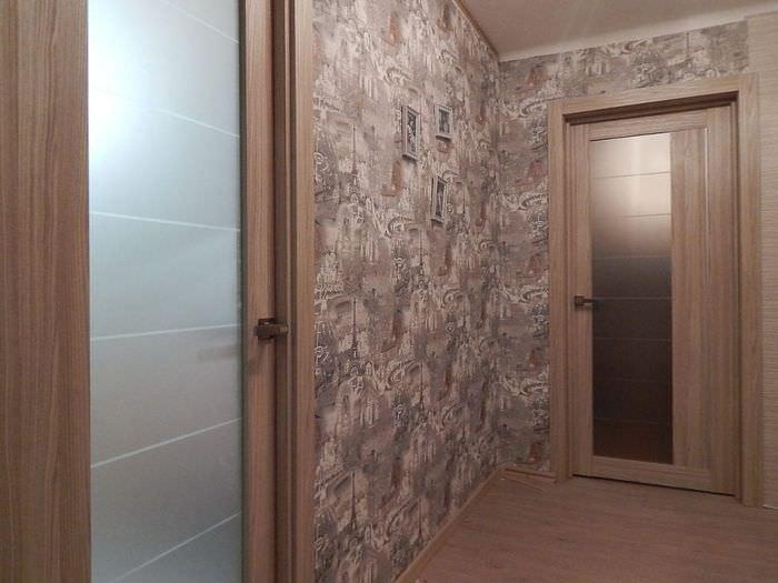 Межкомнатные двери цвета капучино в интерьере
