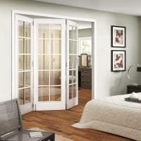 яркие двери в дизайне гостевой фото