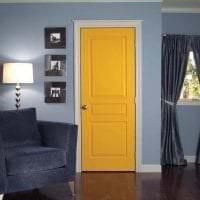 темные двери в интерьере прихожей фото