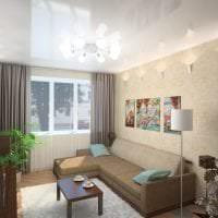 темный угловой диван в стиле коридора картинка