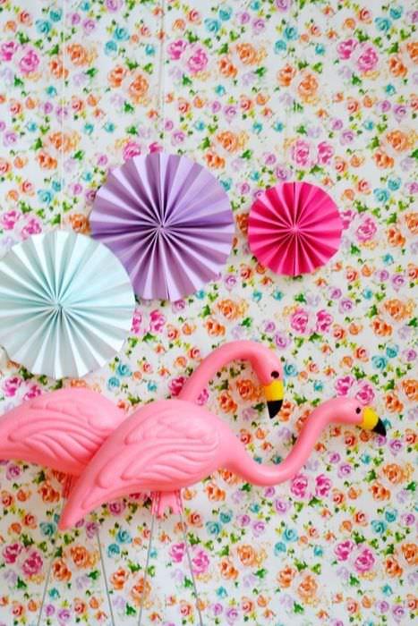 Зонтики на стену из бумаги своими руками 10