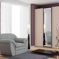 угловой шкаф в интерьере спальни фото