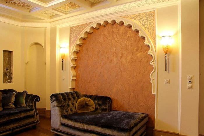 Дизайн арок в стене