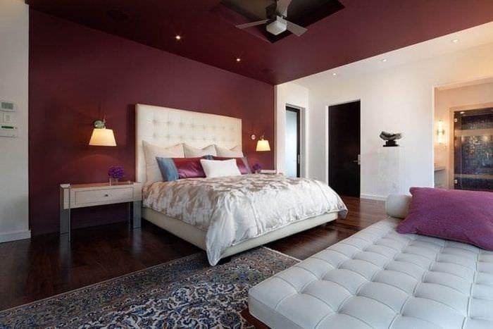 светлая гостевая комната интерьер