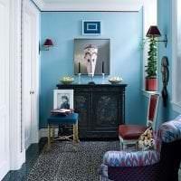 цветная гостевая комната стиль картинка