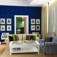 цветная кухня комната интерьер картинка
