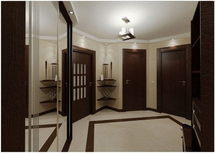 Двери белые гладкие и шпонированные