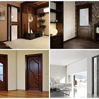 яркие двери в стиле коридора картинка