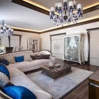 светлый ар деко стиль квартиры фото