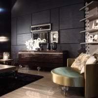 светлый ар деко стиль гостиной фото