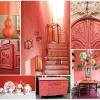 красивый цвет марсала в дизайне спальни картинка
