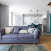 шикарный цвет тиффани в дизайне спальни картинка