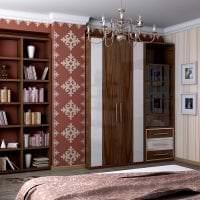 красивый дизайн гостиной в этническом стиле картинка