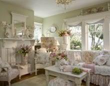 красивый декор спальни в французском стиле картинка