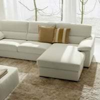 светлый диван в стиле коридора фото