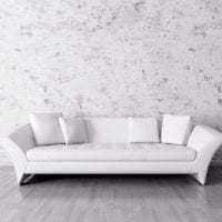светлый диван в стиле гостиной фото