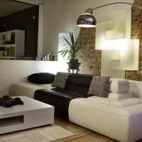 яркий диван в стиле гостиной фото