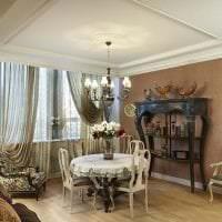 красивый декор спальни в французском стиле фото