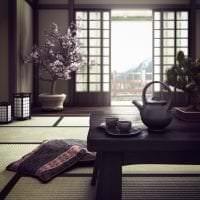 красивый декор квартиры в японском стиле фото
