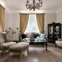 яркий интерьер квартиры в французском стиле фото