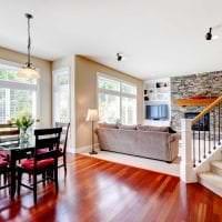 шикарный дизайн квартиры в американском стиле картинка