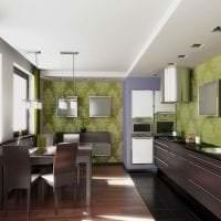 светлый стиль квартиры в шоколадном цвете фото