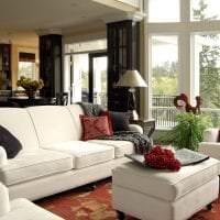 яркий интерьер дома в американском стиле фото