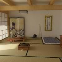 яркий стиль кухни в японском стиле картинка