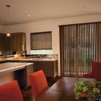 яркий дизайн гостиной в шоколадном цвете картинка