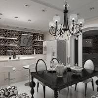 яркий дизайн дома в стиле арт деко фото