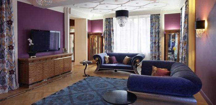 красивый стиль комнаты в стиле деко арт
