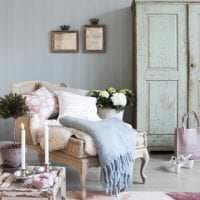 красивый декор комнаты в стиле шебби шик картинка