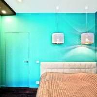 аквамарин цвет в дизайне прихожей фото