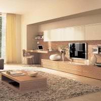 коричневый цвет в дизайне кухни картинка