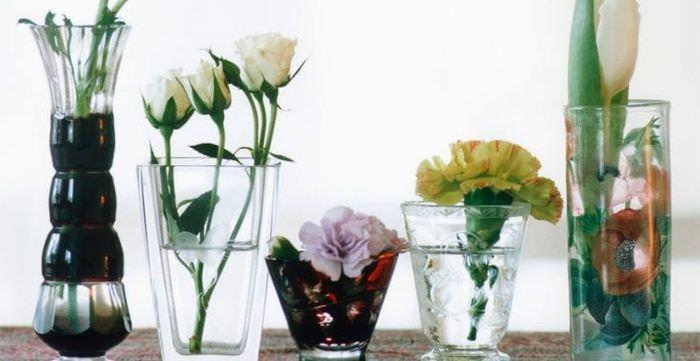 живые цветы в стиле квартиры