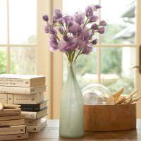 живые цветы в декоре прихожей фото