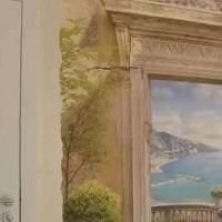 фрески в дизайне комнаты с изображением природы картинка