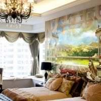 фрески в стиле квартиры с рисунком пейзажа картинка